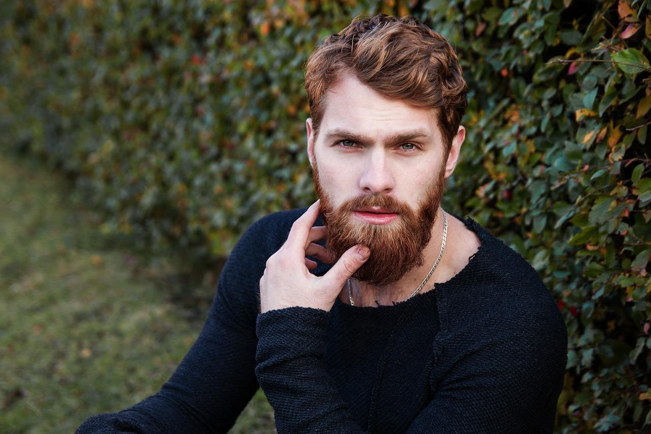 integratore di vitamine per la crescita della barba della barba principale per uomo