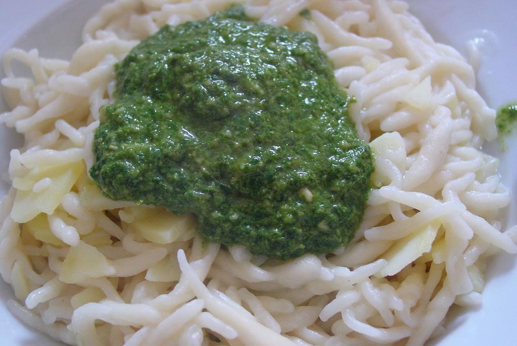 Ricette primi piatti trofie alla ligure per celiaci for Ricette per primi piatti